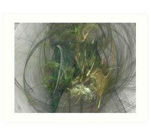 Swooping Apophysis Firebird Art Print