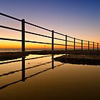 Reflections of a new dawn by Geoff Carpenter