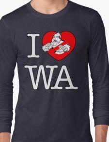I PNW:GB WA (black) v2 Long Sleeve T-Shirt