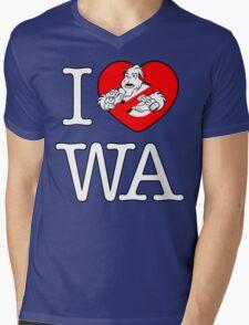 I PNW:GB WA (black) v2 Mens V-Neck T-Shirt