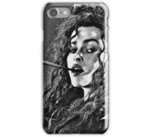 Bellatrix Lestrange iPhone Case/Skin