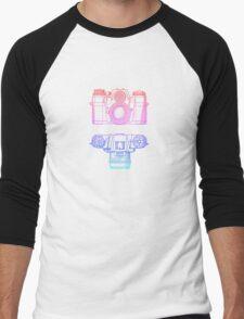 Vintage Photography - Contarex (Multi-colour) Men's Baseball ¾ T-Shirt