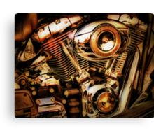 Harley Davidson Engine Canvas Print