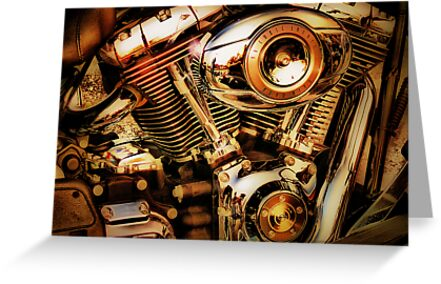 Harley Davidson Engine by A90Six