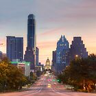 Texas State Capitol from Congress Avenue in the Morning 7 by RobGreebonPhoto