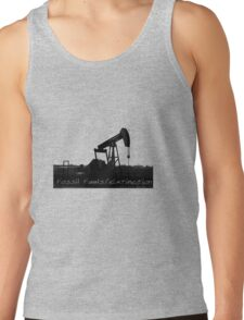 Fossil Fuels/Extinction Tank Top