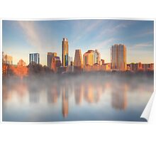 January Morning in Austin, Texas 1 Poster