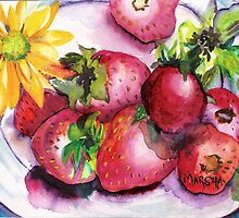 Strawberry Treat by Marsha Woods
