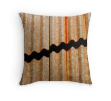 Corrogated Iron Throw Pillow
