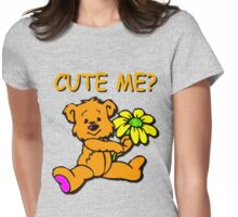 CUTE ME? Womens Fitted T-Shirt