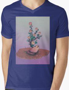 Premium natural 1  Mens V-Neck T-Shirt