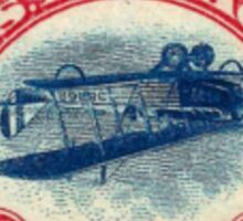 Inverted Jenny Airmail Stamp Sticker Sticker
