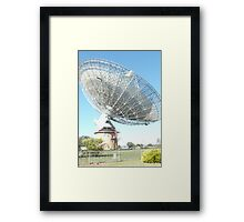 The Dish Framed Print