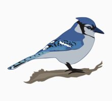 Blue Jay Bird Kids Clothes