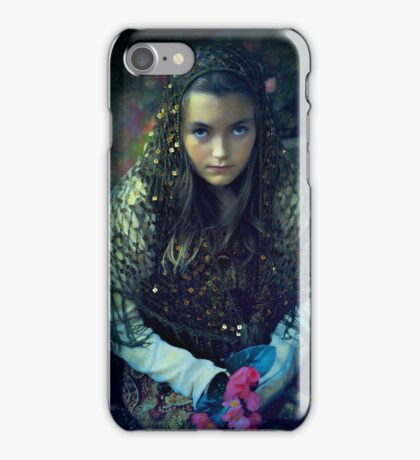 Young Maiden iPhone Case/Skin