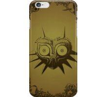 Majoras mask gold  iPhone Case/Skin
