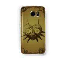 Majoras mask gold  Samsung Galaxy Case/Skin