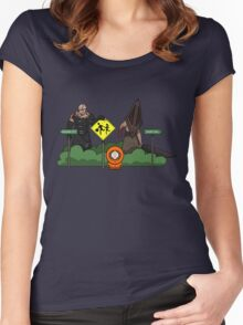 Which Way Women's Fitted Scoop T-Shirt