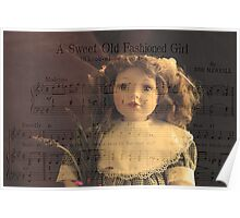 A Sweet Old Fashioned Girl Poster