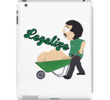 Legalize Marijuana, Randy Marsh South Park style iPad Case/Skin