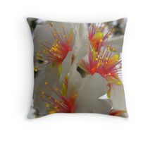 bright sparks Throw Pillow