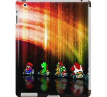 Super Mario Kart pixel art iPad Case/Skin