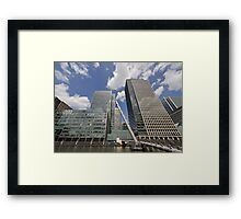 Canary Wharf Office Towers Framed Print
