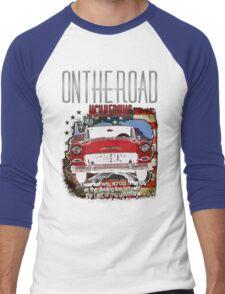 Jack Kerouac On The Road Men's Baseball ¾ T-Shirt
