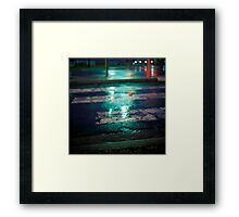 lunar lights 2 Framed Print