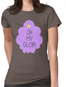 Lumpy Space Princess OH MY GLOB! Womens Fitted T-Shirt