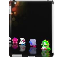 Bubble Bobble retro gaming pixel art iPad Case/Skin