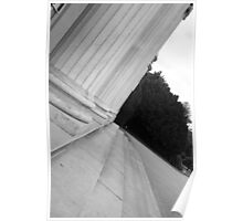 Columns at Shugborough Hall Poster