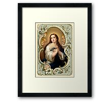 Mary Immaculate Framed Print