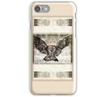 Owl Spread Your Wings - light iPhone Case/Skin