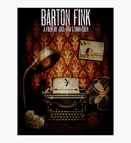 Coen Brothers Classic Film Barton Fink Photographic Print