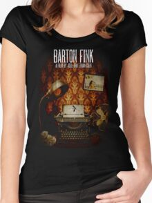 Coen Brothers Classic Film Barton Fink Women's Fitted Scoop T-Shirt