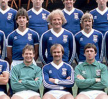 Ipswich Town 1981 - the greatest! Sticker