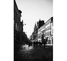 Early morning in Glasgow, Scotland Photographic Print