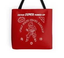 Super Saiyan Sriracha Sauce Tote Bag
