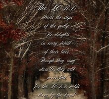 The Lord directs our steps-Psalm 37:23 by vigor