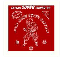 Super Saiyan Sriracha Sauce Art Print
