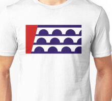 des moines city flag Unisex T-Shirt