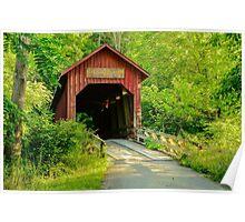 Bean Blossom Covered Bridge Poster