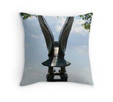 WW II Memorial Throw Pillow