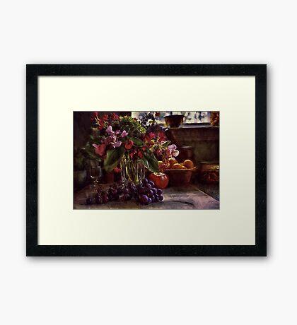 Fruit of Still Life Framed Print