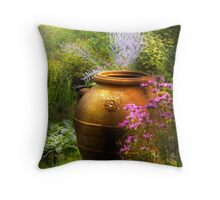 The Urn Throw Pillow