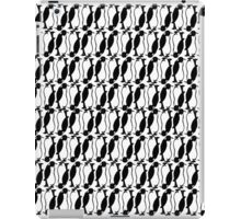 Penguin plaid iPad Case/Skin