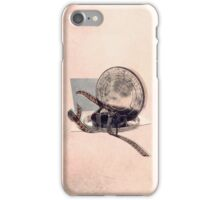 The film reel auditor iPhone Case/Skin