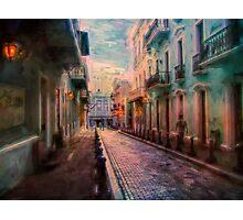 Streets of San Juan Photographic Print