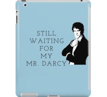 Waiting for Mr. Darcy iPad Case/Skin